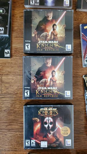Star Wars: Knights of the Old Republic (KOTOR) Collection 1 & 2 for Sale in Orange, CA