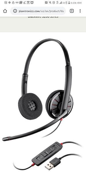 Plantronics Blackwire C320 Binaural USB Headset for Sale in St. Petersburg, FL