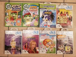 Leap Frog Games for Kids for Sale in Miami Gardens, FL