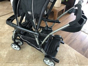 Stroller double graco ready2grow click connect for Sale in Miami, FL