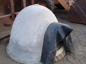 Igloo fall weather dog shelter excellent outdoor protection for your dog for Sale in Escondido, CA