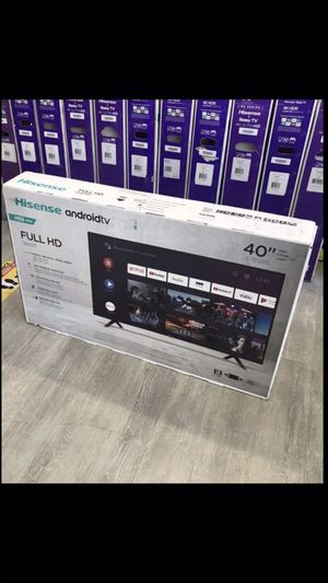 40 inch hisense android 4K smart tv for Sale in Ontario, CA