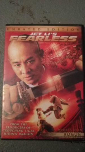 Fearless dvd for Sale in Missoula, MT