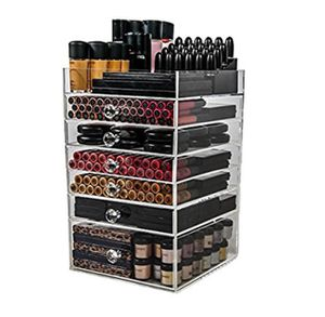 Makeup organizer • large acrylic organizer • vanity drawers for Sale in Rancho Cucamonga, CA