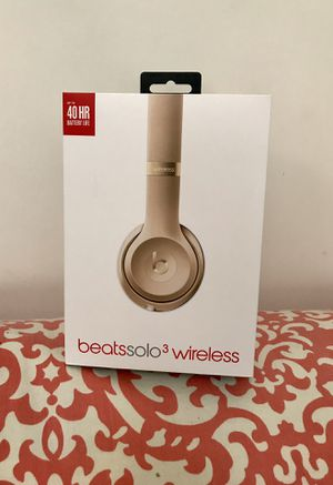 Beats by Dr. Dre, Beats Solo 3 wireless (New) - $200 for Sale in Washington, DC