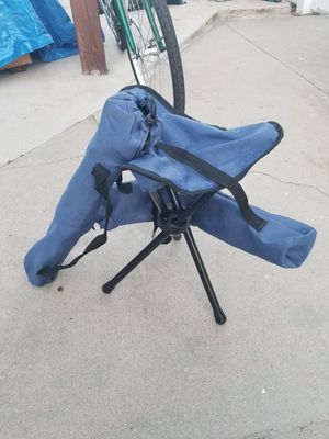 Pair of Fishing Chairs - Blue for Sale in Pomona, CA