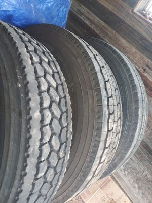 Semi truck low pro tires 295/75/22.5 and 285/75/22.5 for Sale in Pirtleville, AZ
