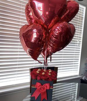 Balloons - Caja de Rosas for Sale in Miami, FL