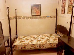 Vintage antique 4 post bed SIZE TWIN for Sale in Denver, CO