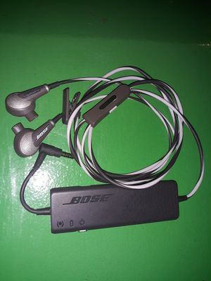 Bose QC20 Noise Cancellation Quiet Comfort 20 Earbuds for Sale in Federal Way, WA