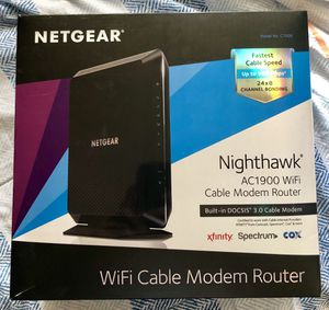 Netgear Nighthawk AC1900 Gaming Modem/Router for Sale in Spring Valley, CA
