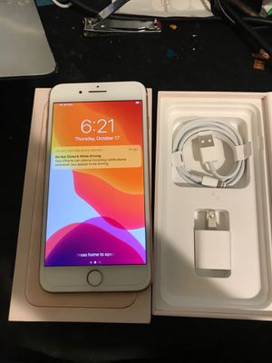 iPhone 8 Plus gold 256gb tmobile/metro pcs for Sale in Riverside, CA