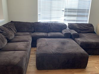 Super Comfy Large Brown Sectional for Sale in Littleton,  CO