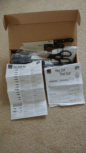 Ronco 25 pc knife set for Sale in Largo, FL