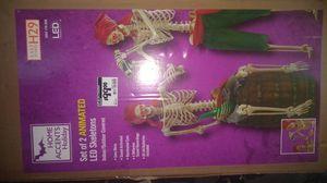 Set of 2 Animated led Skeletons for Sale in Glendale, AZ