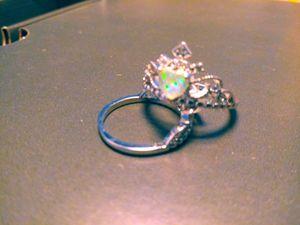 Opal ring. Sterling sliver. 925 stamped. for Sale in Mannington, WV