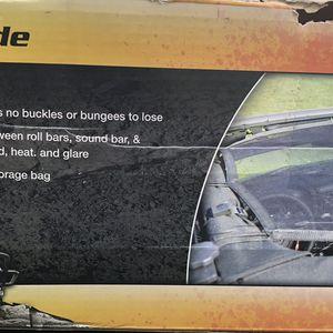 Black Eclipse Sun Shade Jeep Wrangler for Sale in Dallas, TX