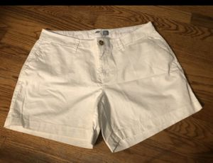 Cute 🥰 White New Old Navy Shorts 🩳 Size 10 for Sale in Fresno, CA