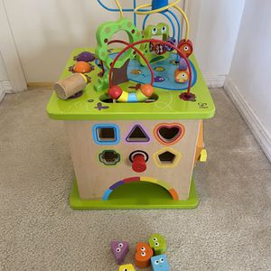 Hape Learning Activity Cube for Sale in Los Angeles, CA
