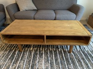 Wood Mid-Century Modern Coffee Table for Sale in Beaverton, OR