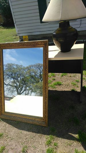 gold mirror antique for Sale in Fort Worth, TX