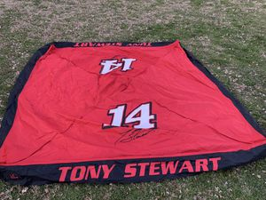 Tony Stewart signature #14 tent cover for Sale in Melrose, TN