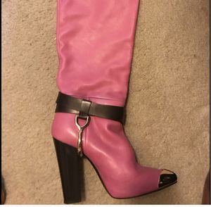 Gianmarco Lorenzi HOT PINK 5 inch tall boot for Sale in New York, NY