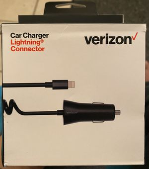 Verizon Apple iPhone Car Charger for Sale in Chino, CA