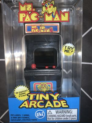 Worlds smallest tiny arcade pac-man for Sale in Colonial Heights, VA