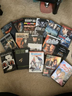 Assortment of DVDS for Sale in Charlotte, NC