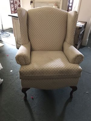 Wing back chair for Sale in LAUREL PARK, WV