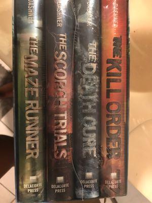 Maze runner book series for Sale in Lemon Grove, CA