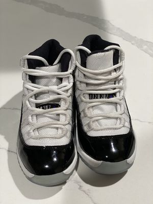 Jordan Concords kids shoes 11c for Sale in Houston, TX
