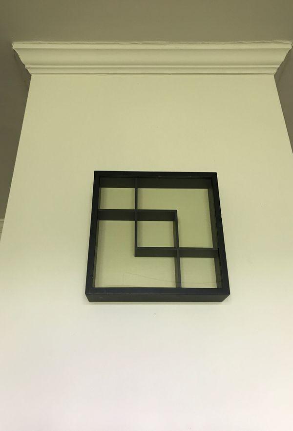 Wooden Square Curio
