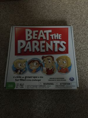 Beat the Parents board game for Sale in Greenwood, DE
