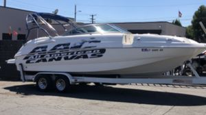 254 chaparral deck boat for Sale in Montclair, CA