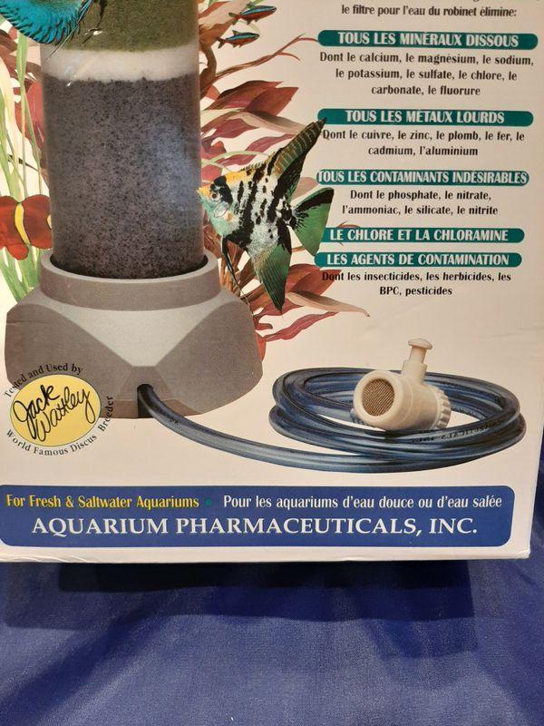 Aquarium tap water filter.