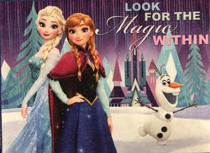 Brand New Elsa & Anna Carpet for Sale in Fairfax, VA