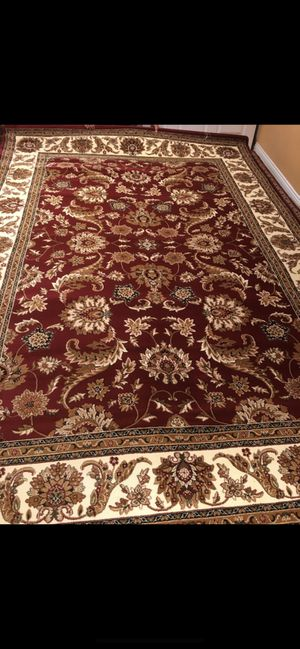 New rug size 8x11 nice red carpet for Sale in Springfield, VA