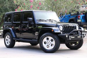 Jeep wrangler SAHARA wheels and tires for Sale in Seattle, WA