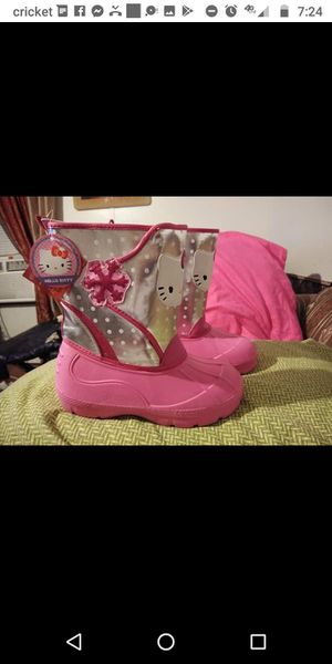 Hello Kitty boots for Sale in San Antonio, TX