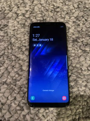 Samsung Galaxy S8 Phone Black for Sale in Snohomish, WA