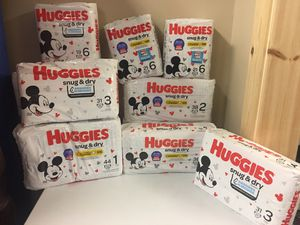 Huggies Diapers for Sale in Mooresville, NC