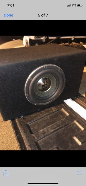 JBL subwoofer for Sale in Anaheim, CA