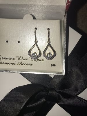 Diamond accent Gold dipped earrings for Sale in Washington, DC