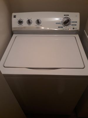 Kenmore washer and dryer selling as a complete set for Sale in Fresno, CA