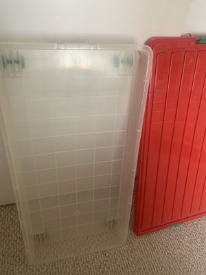 Storage Box Rolls under the bed for Sale in Fontana, CA
