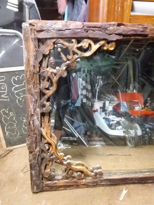 Very beautiful hand made frame with an very old mirror. This is my original for Sale in Sandy, OR