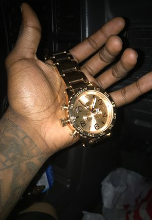 19k rose gold Nixon watch for Sale in Severn, MD