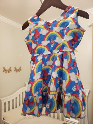 Princess poppy trolls party dress 1/2-2years for Sale in West Covina, CA